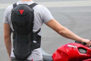 Protezione per la schiena per la moto