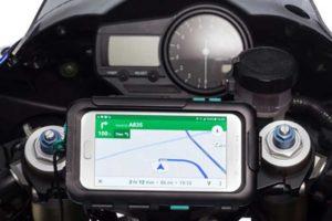 Porta smartphone per moto