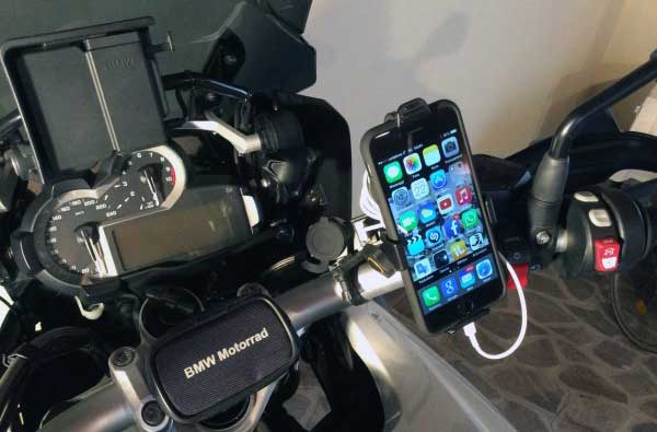 SUPPORTO CUSTODIA PER IPHONE 6 PER MOTO E BICI CELLULAR LINE