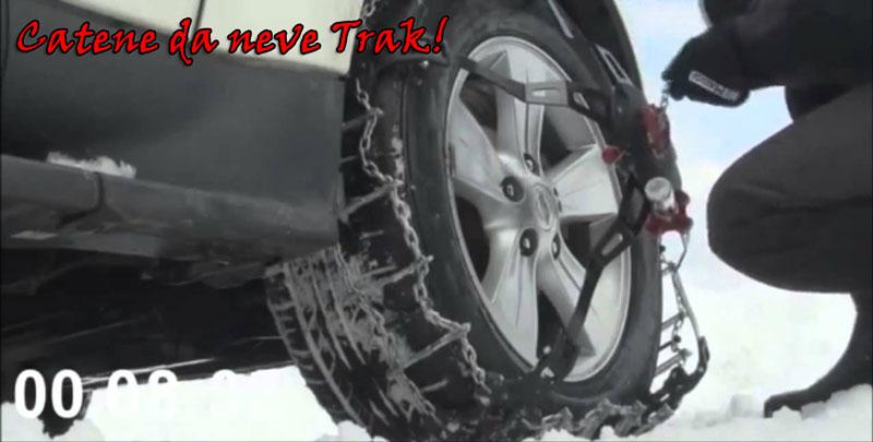 Catene da neve Trak per suv e 4x4