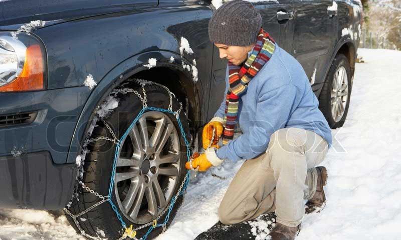 Catene da neve resistenti e omologate per auto e suv