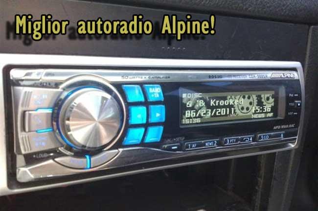 Autoradio 1 din Alpine