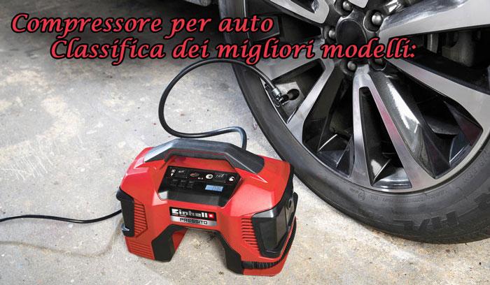 Pompa pneumatici auto,compressore d aria portatile gonfiatore pneumatici auto digitale pneumatico compressori portatili 12V elettrica