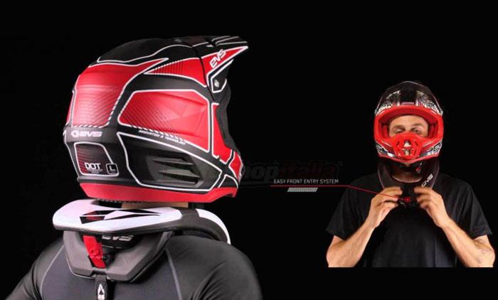 Protezione per il collo da motocross