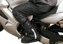 Copriscarpe antipioggia da moto