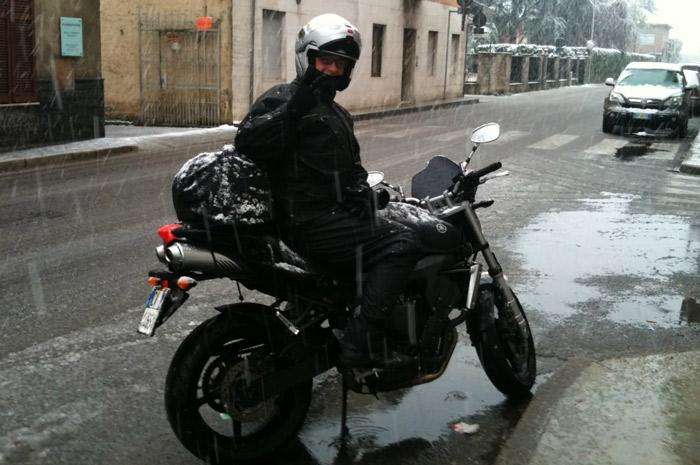 Tuta antipioggia da moto