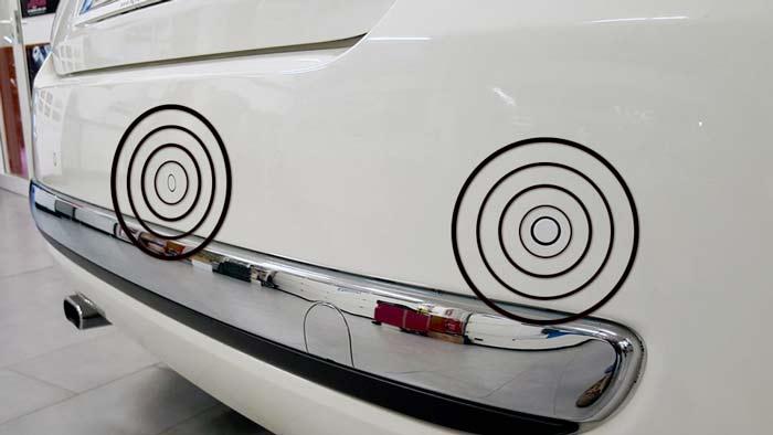 Kit sensori di parcheggio