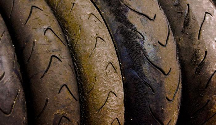 Battistrada delle gomme da moto
