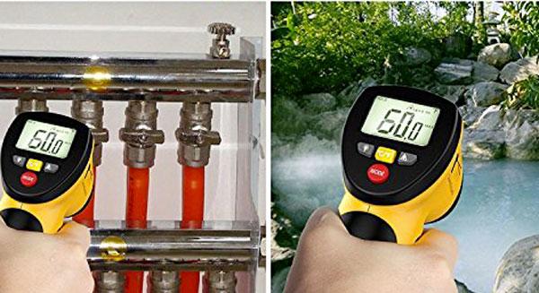 Termometro laser a infrarossi