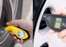 Misuratore pressione pneumatici