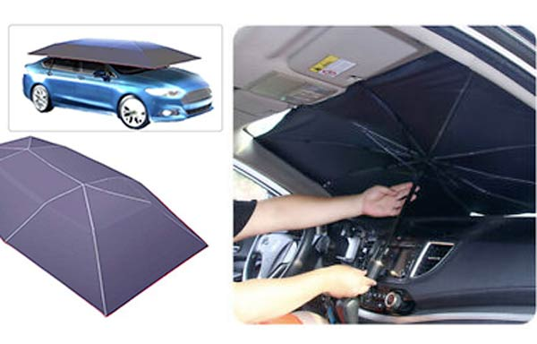 ombrello parasole per auto